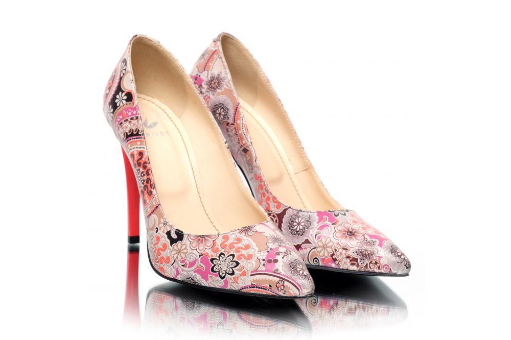 Pantofi din piele naturala Pantofini Radiance